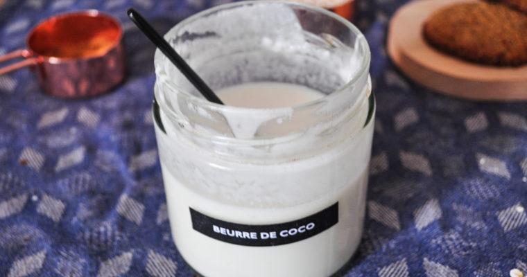 Faire son beurre de coco