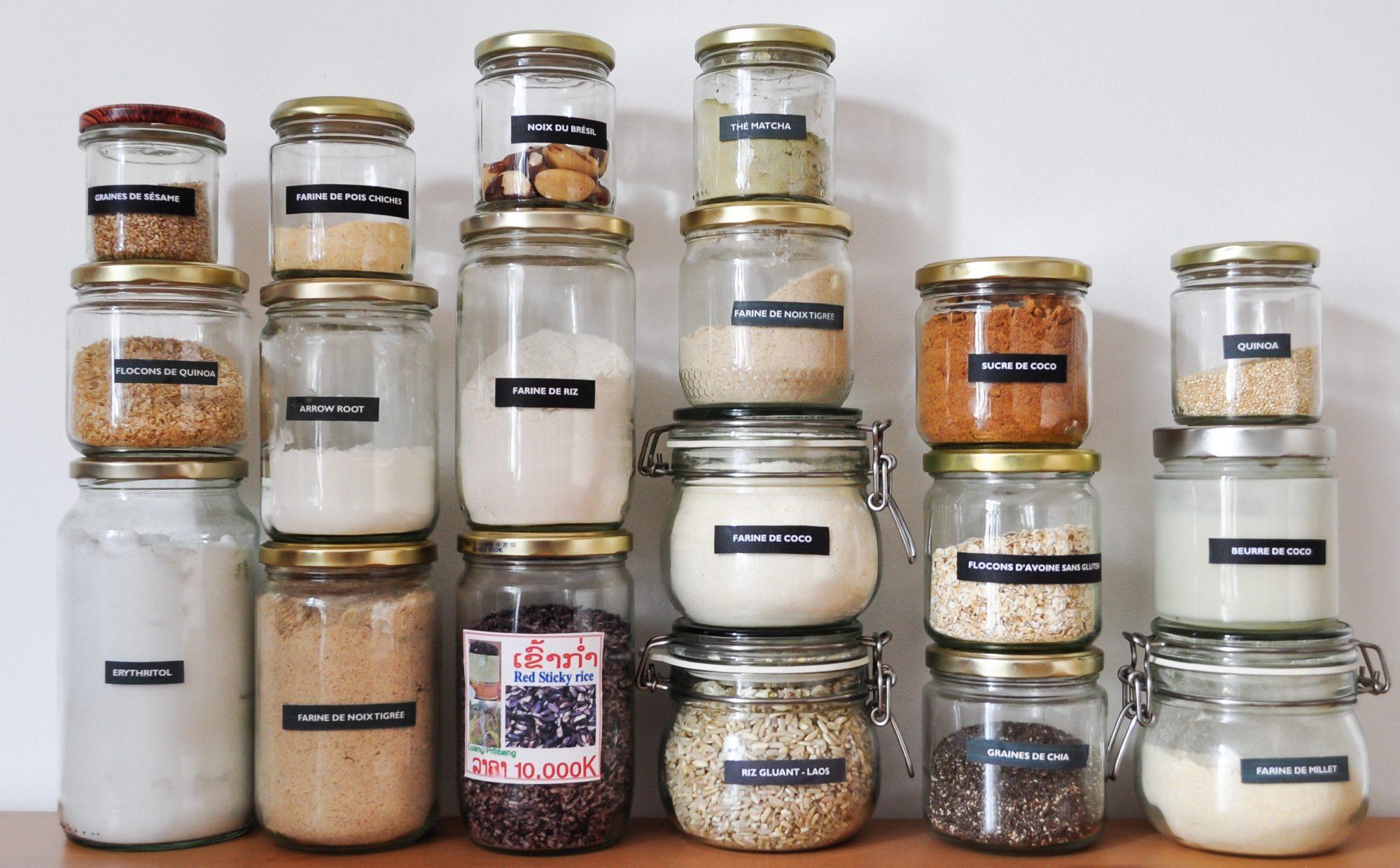 Les ingrédients de base dans ma cuisine
