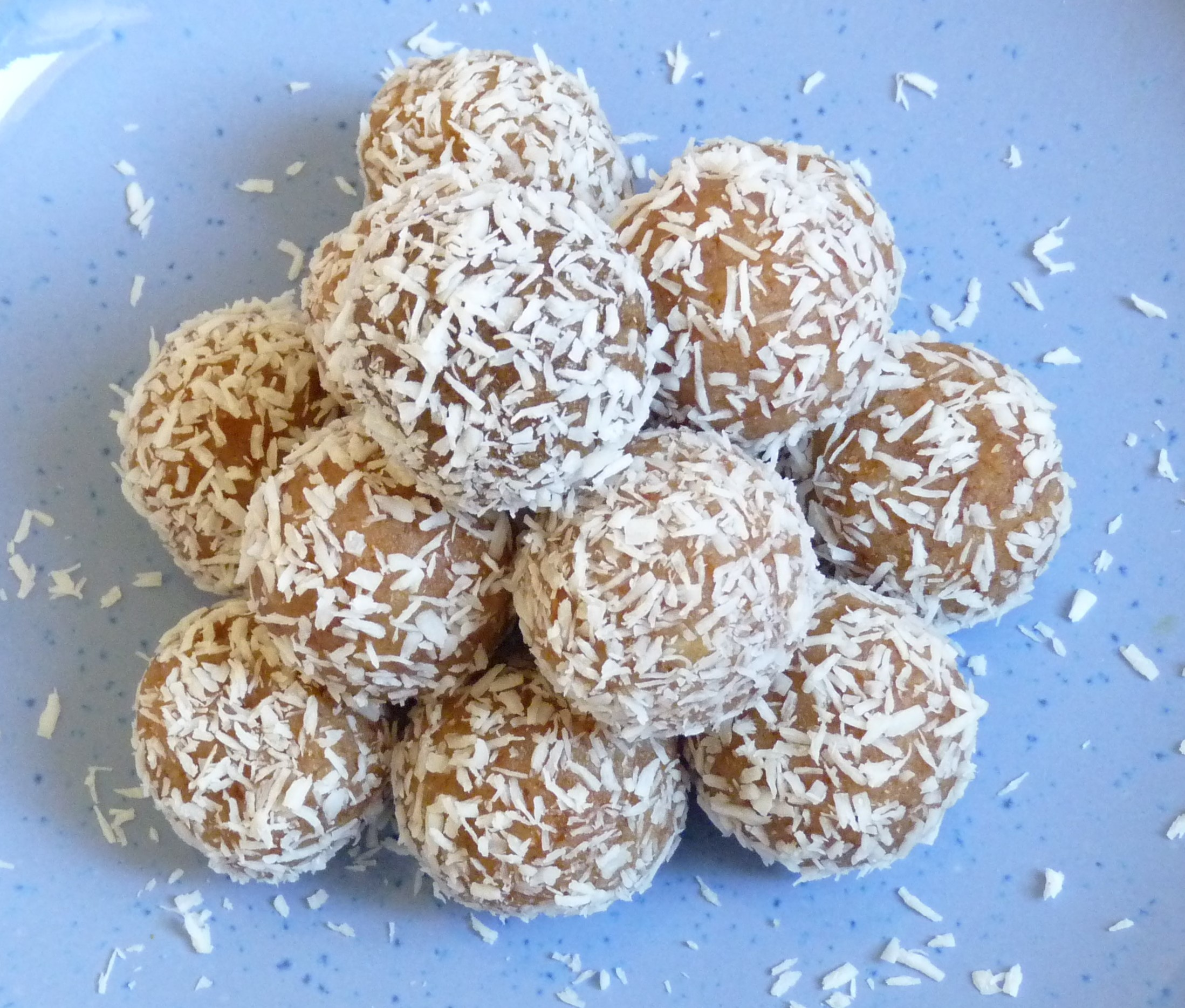Raw energy balls au citron