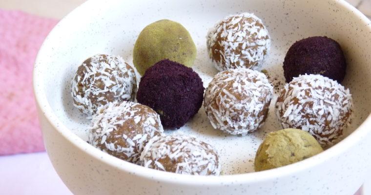 Raw Energy balls aux mûres séchées